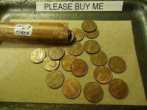 1976 P CIRCULATED CENT ROLL            C/S & H AVAILABLE