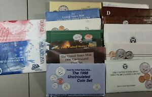 Click now to see the BUY IT NOW Price! 1984   1999MINT SETS PLUS 1974 MINT SET  LOT OF 16