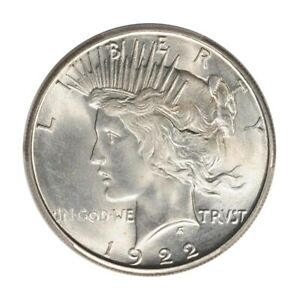 Click now to see the BUY IT NOW Price! 1922 S $1 PEACE DOLLAR PCGS MS66 3179 6