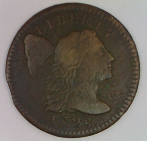 1795 LIBERTY CAP LARGE CENT FINE UNITED STATES PENNY CAPPED LIBERTY ONE 1