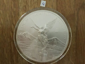 Click now to see the BUY IT NOW Price! 2014 5 OZ SILVER MEXICAN LIBERTAD .999 SILVER BULLION BU IN AIR TITE MEXICO 4