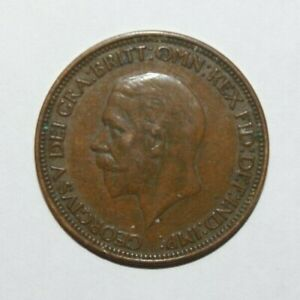 1935 1/2 PENNY GREAT BRITAIN / UK A HIGH GRADE AND HIGH VALUE COIN