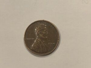 VERY  1969 D PENNY RED HUE ERROR DOUBLE DIE THIN LETTERING