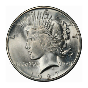 Click now to see the BUY IT NOW Price! 1927 D $1 PEACE DOLLAR PCGS MS65   CAC  3197 3 PQ BLAST WHITE