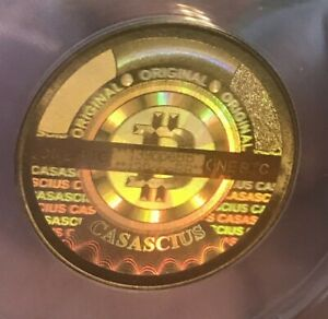 Click now to see the BUY IT NOW Price! 2013 CASASCIUS PHYSICAL 1BTC COIN GRADED ANACS MS63 MINT BITCOIN