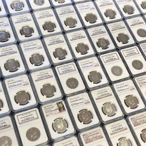 Click now to see the BUY IT NOW Price! THE 10 NGC KENNEDY HALF DOLLARS 1964 DATE PROOF ISSUE REGISTRY SET