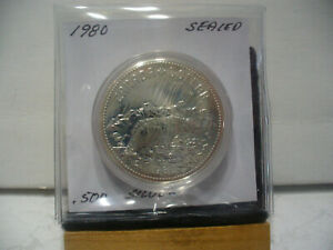 Click now to see the BUY IT NOW Price! 1980   CANADA  SILVER DOLLAR  COIN   1$    NICE  HIGH  GRADE   80   SEE PHOTOS