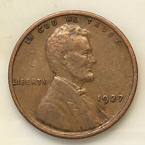 1927 LINCOLN CENT YOUR ACTUAL COIN IN PHOTO