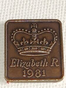 1981ROYAL MINT PROOF YEAR MEDALLION MEDAL TOKEN   ELIZABETH II