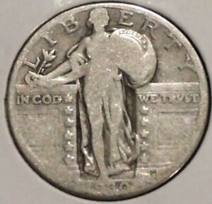 STANDING LIBERTY QUARTER   1930   HISTORIC SILVER   $1 UNLIMITED SHIPPING