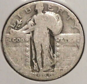 STANDING LIBERTY SILVER QUARTER   1929   OVERSTOCK   $1 UNLIMITED SHIPPING Y15