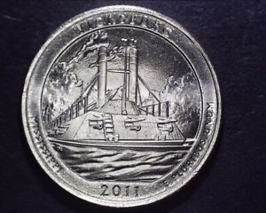 2011 P BU VICKSBURG WASHINGTON QUARTER