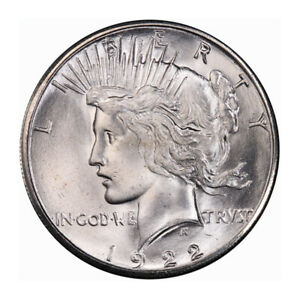 Click now to see the BUY IT NOW Price! 1922 S $1 PEACE DOLLAR PCGS MS66  CAC  3179 7 WHITE  ONLY ONE FINER