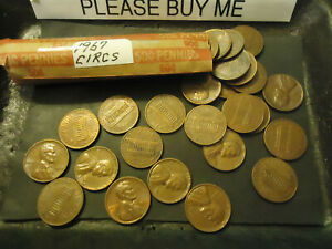 1967 LINCOLN CENT ROLL     CIRCS       S&H   C/S