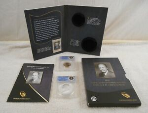 2015 DWIGHT D EISENHOWER COIN CHRONICLE SET  2015 P ANACS RP69 /2015 AUTHENTIC