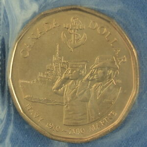 CANADA 2010 NAVY CENTENIAL LOONIE    BUSINESS STRIKE FROM MINT PACK
