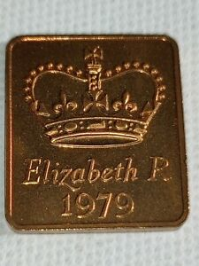 1979 ROYAL MINT PROOF YEAR MEDALLION MEDAL TOKEN   ELIZABETH II