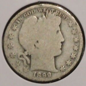 BARBER HALF   1899 O   HISTORIC SILVER    $1 UNLIMITED SHIPPING