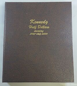 Click now to see the BUY IT NOW Price! 1964 2006 KENNEDY HALF DOLLAR ALBUM INCLUDING STANDARD ISSUED AND PROOF COINS