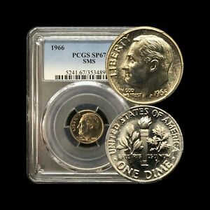 Click now to see the BUY IT NOW Price! 1966 SMS ROOSEVELT DIME WITH
