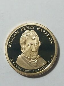 2009 S DEEP CAMEO PROOF WILLIAM HENRY HARRISON PRESIDENTIAL DOLLAR