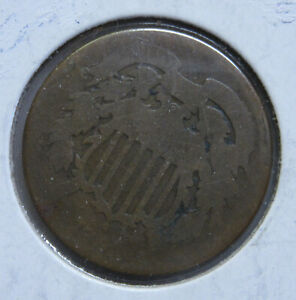 1864 U.S. TWO CENT LOW GRADE