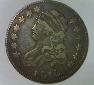 1818 CAPPED LIBERTY DRAPED BUST QUARTER DOLLAR NICE QUALITY HIGH GRADE TYPE