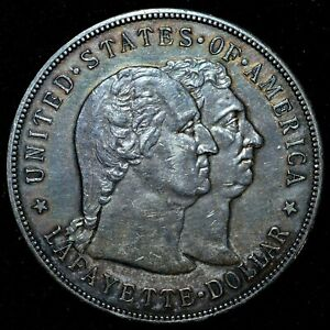 1900 P $1 LAFAYETTE SILVER DOLLAR  XF EXTRA FINE  SILVER  NOW TRUSTED