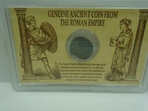GENUINE ANCIENT COIN FROM THE ROMAN EMPIRE
