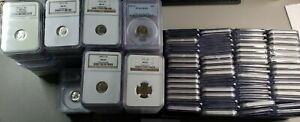 Click now to see the BUY IT NOW Price! 1946 2019 PCGS & NGC GRADED SET ROOSEVELT DIMES  156 COINS  INSTANT REGISTRY SET