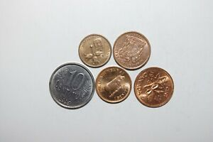 WORLD COINS GREAT GP. FROM ALLOVER LOT OF 5 COINS W/ UNC OR HIGH GRADE VALUE B67
