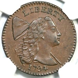 Click now to see the BUY IT NOW Price! 1794 S 31 NGC MS 60 BN HEAD OF 94 LIBERTY CAP LARGE CENT COIN 1C