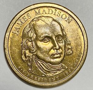 2007 D JAMES MADISON PRESIDENTIAL $1 DOLLAR CIRCULATED COINS  2873