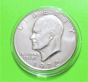 1972 D $1 EISENHOWER DOLLAR   UNCIRCULATED