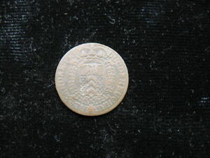 SMALL OLD WORLD COIN SWITZERLAND NEUCHATEL KREUZER 1808 KM66  552