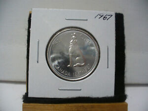 Click now to see the BUY IT NOW Price! 1967  CANADA  SILVER  HALF  DOLLAR  50 CENT PIECE   67    GOOD GRADE