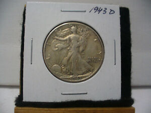 Click now to see the BUY IT NOW Price! 1943 D   WALKER  LIBERTY WALKING  HALF  DOLLAR      50 CENT PIECE   COIN  43D