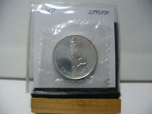 Click now to see the BUY IT NOW Price! 1967 CANADA SILVER HALF DOLLAR TOP GRADE  50 CENT PIECE  67C  PROOF LIKE  SEALED