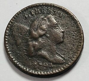 1794 LIBERTY CAP 1/2C HALF CENT   BETTER GRADE
