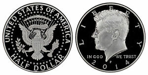 USA 50 CENTS 2014 P SILVER  PROOF   FROM 50TH ANNIVERSARY SET
