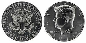 USA 50 CENTS 2014 D SILVER  UNCIRCULATED   FROM 50TH ANNIVERSARY SET