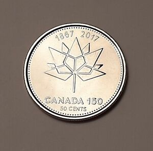2017 AU CANADA 50 CENTS  1867 2017 : 150TH ANNIVERSARY OF CONFEDERATION  COIN