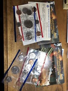 1995 UNITED STATES MINT SET UNCIRCULATED COIN   LOT OF 2 SETS