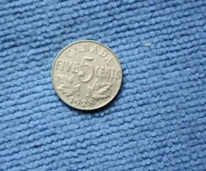 CANADA FIVE CENT 1928