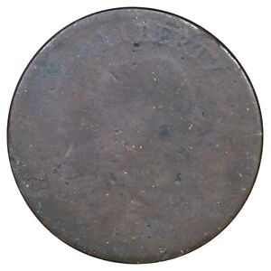 1793 S 4 R 3 ANACS POOR CHAIN LARGE CENT COIN 1C