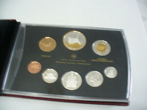 Click now to see the BUY IT NOW Price! 2010  CANADA PROOF SET   TOONIE  LOONIE FIFTY CENT QUARTER NICKEL DIME PENNY