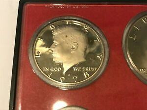 1978 S PROOF KENNEDY HALF DOLLAR   DIRECTLY FROM PROOF SETS   FAST