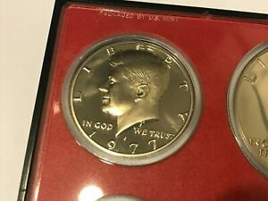 1977 S PROOF KENNEDY HALF DOLLAR   DIRECTLY FROM PROOF SETS   FAST