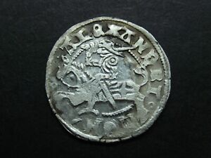 1/2 GROSH WITHOUT DATE SILVER COIN OF MEDIEVAL LITHUANIA 1839