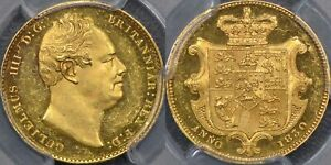 Click now to see the BUY IT NOW Price! 1830 PROOF SOVEREIGN   PCGS PR62DCAM